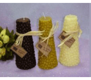 6 in Cone Shaped Corn Candles