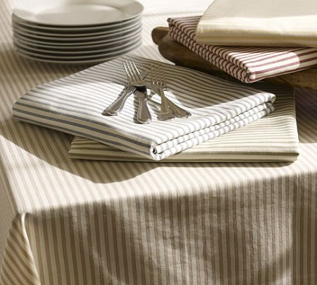 Stripe Table Cloth 60 x 84