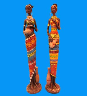 Royal African Figurine 15.5