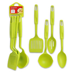 4pc Green Cooking Utensils