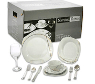 Natural Trends Rexford 44pc Dinner Set